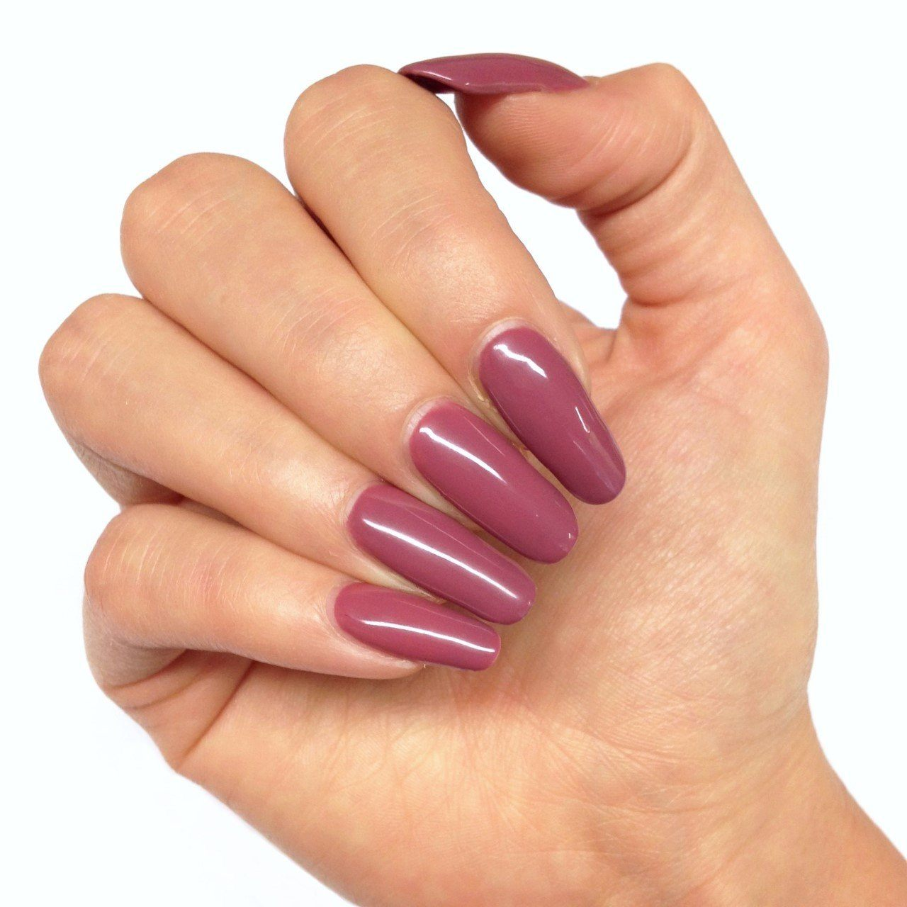 Bluesky Dark Musky Pink Nail Gel Polish MARSALA - UV/LED Soak Off 10ml - Bluesky Nail Gel Polish