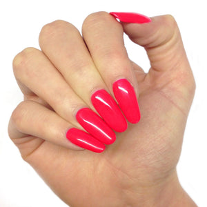 Bluesky NEON 25 UV/LED Soak Off Gel Nail Polish 10ml - Bright Summer Red Pink