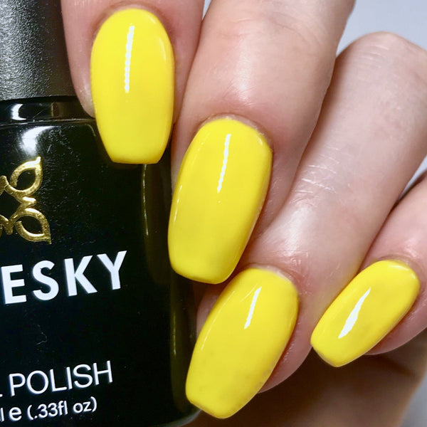 Bluesky NEON 03 CANARY YELLOW UV/LED Soak Off Gel Nail Polish 10ml