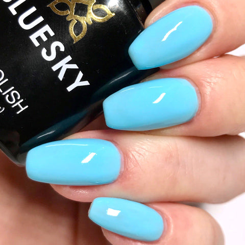 Bluesky NEON 19 PACIFIC UV/LED Soak Off Gel Nail Polish 10ml Free Postage