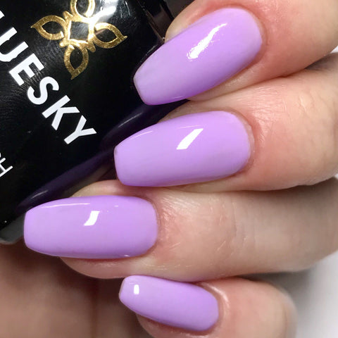 Bluesky NEON 23 LAVENDER UV/LED Soak Off Gel Nail Polish 10ml Free Postage - Bluesky Nail Gel Polish
