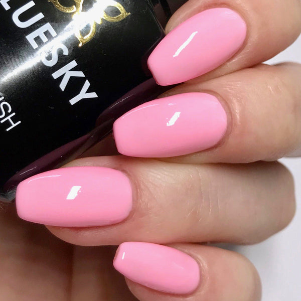 Bluesky PASTEL NEON PN 01 UV LED Soak Off Gel Nail Polish 10ml Baby Pink