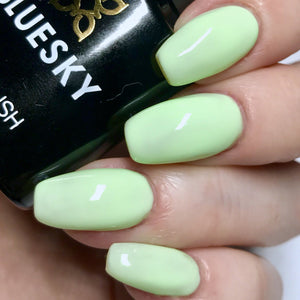 Bluesky PASTEL NEON PN 05 UV LED Soak Off Gel Nail Polish 10ml Lime Green - Bluesky Nail Gel Polish