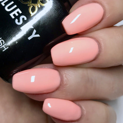 Bluesky PASTEL NEON PN 06 UV LED Soak Off Gel Nail Polish 10ml Light Peach - Bluesky Nail Gel Polish