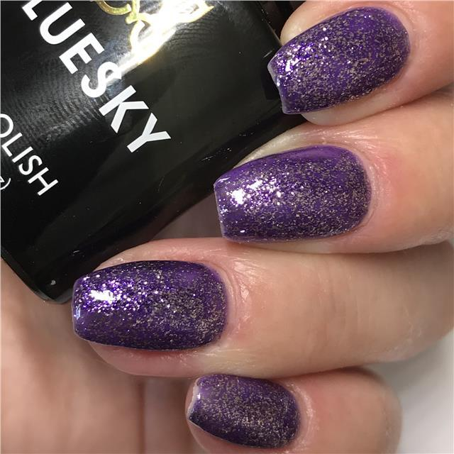Bluesky Platinum Collection AMETHYST AURA UV/LED Gel Nail Polish - PLATINUM 14 - Bluesky Nail Gel Polish