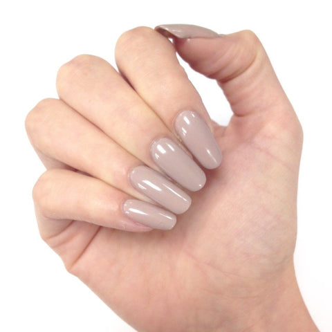 Bluesky Get NUDE Collection QXG 313 SATIN ROBE UV/LED Soak Off Gel Nail Polish