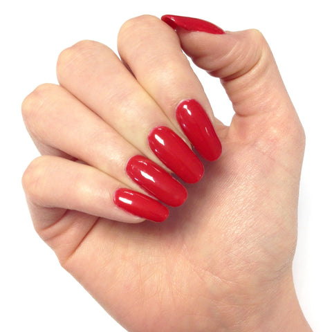 Bluesky CLASSIC RED QXG45 UV/LED Soak Off Gel Nail Polish 10ml - Lipstick Red - Bluesky Nail Gel Polish
