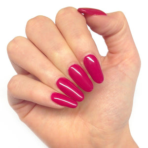 Bluesky Deep Pink Nail Gel Polish - RASPBERRY RIPPLE - UV/LED Soak Off 10ml - Bluesky Nail Gel Polish