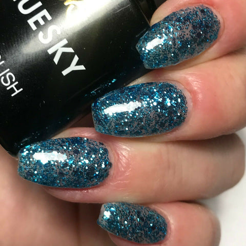 Bluesky GLITTER GALORE S07N UV/LED Soak Off Gel Nail Polish 10ml - Bluesky Nail Gel Polish