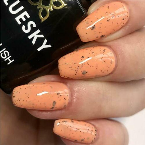 Bluesky Smoothie Bar Collection MANGO TANGO UV/LED Gel Nail Polish - SUM1924 - Bluesky Nail Gel Polish