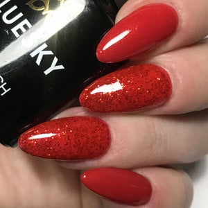 Bluesky Combo RED DREAM & 80521 HOLLYWOOD RED CARPET UV/LE Gel Nail Polish - Bluesky Nail Gel Polish