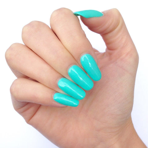 Bluesky TIFFANY UV/LED Soak Off Gel Nail Polish 10ml - Summer Turquoise Green - Bluesky Nail Gel Polish