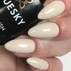 Bluesky VINTAGE BEIGE UV/LED Soak Off Gel Nail Polish 10ml - Ivory Cream Colour - Bluesky Nail Gel Polish