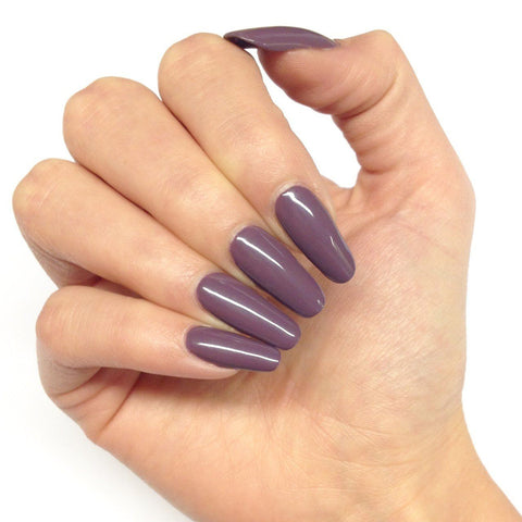 Bluesky WF 03 DULL AUBERGINE UV/LED Soak Off Gel Nail Polish 10ml - Deep Purple