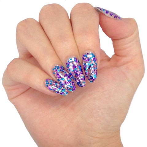 Bluesky Glitter SUM1916 IBIZA UV/LED Gel Polish 10ml