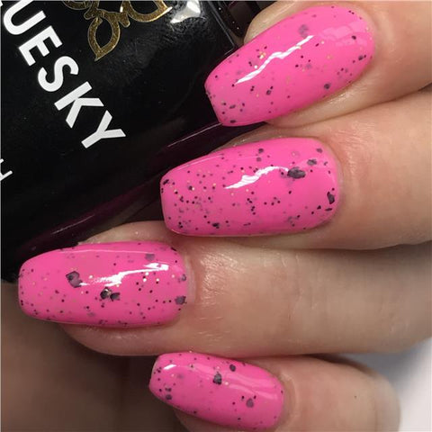 Bluesky Smoothie Bar Collection RASPBERRY ROCKET UV/LED Gel Nail Polish SUM1919
