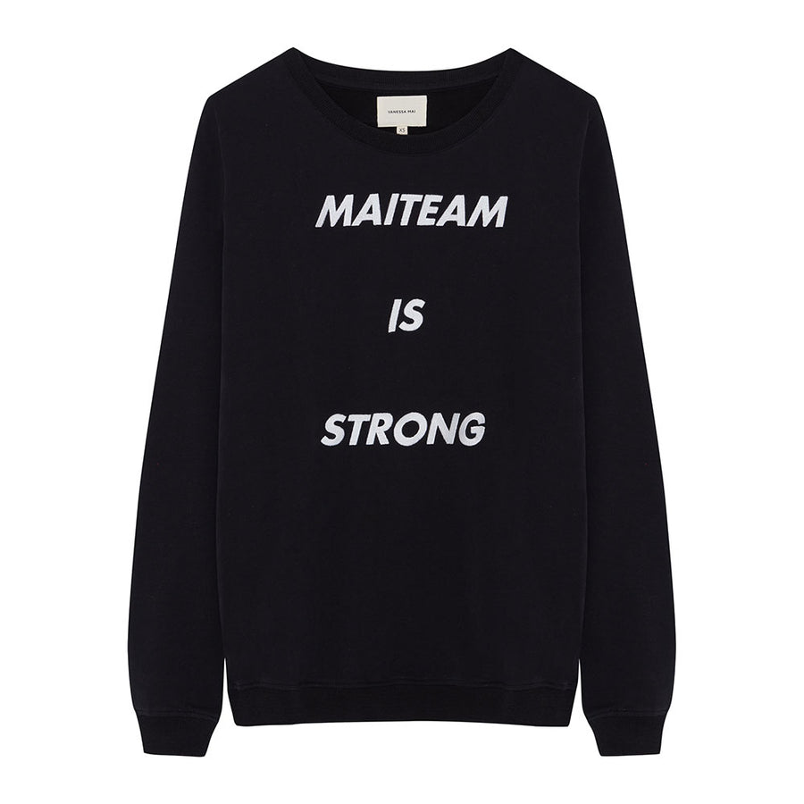 MAITEAM BLACK Sweater