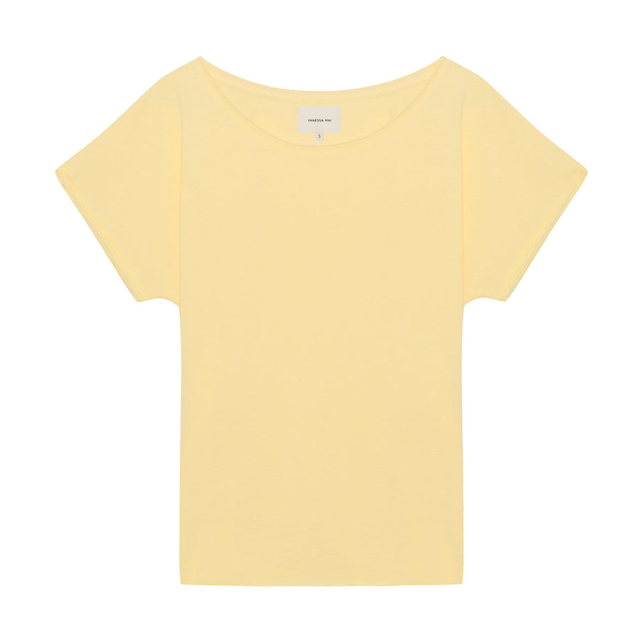 Bright Yellow Loose Fit Shirt