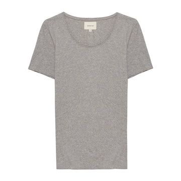 Grey Melee Crew Neck Shirt