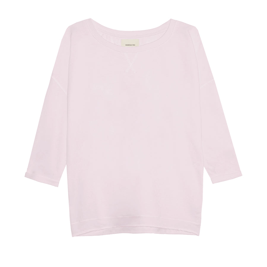 Powder Pinke Loose Fit Sweater