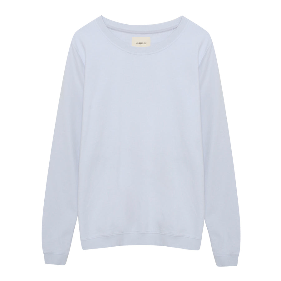 Powder Blue Basic Sweater