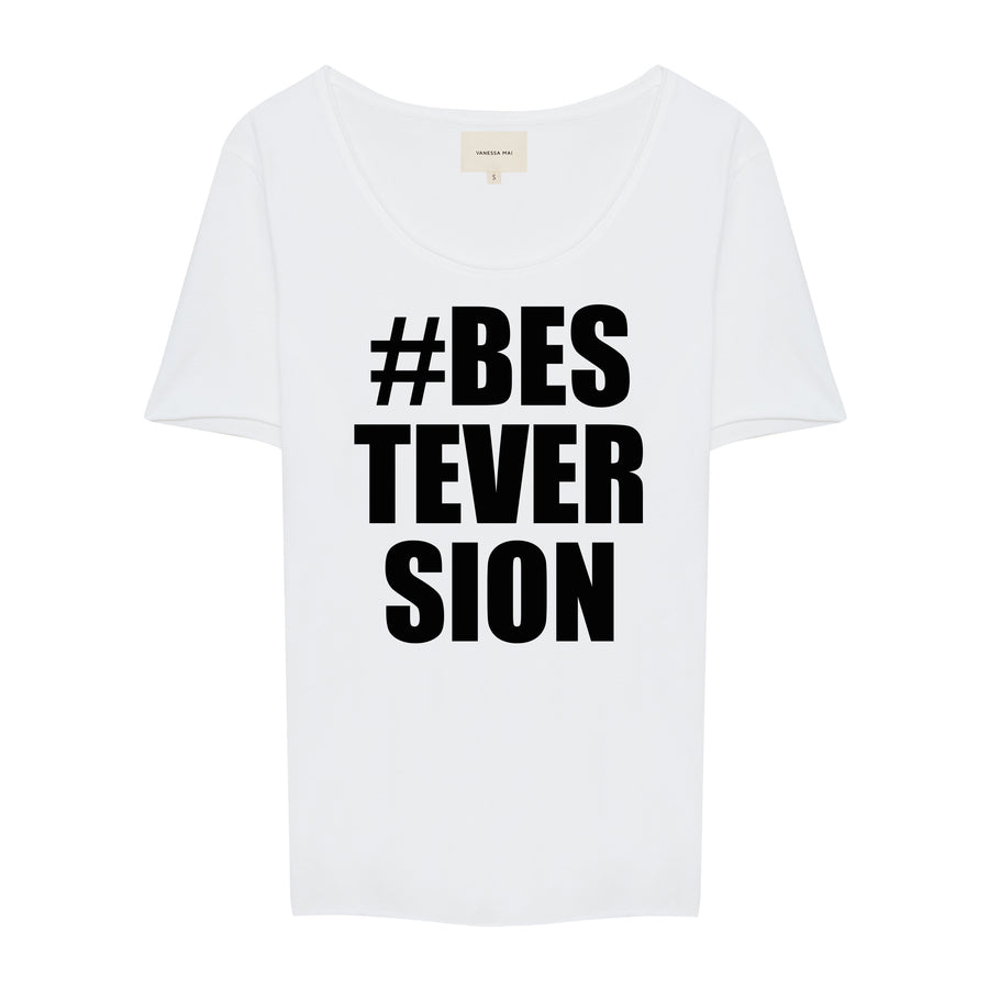 #BESTEVERSION Crew Neck Shirt