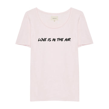 LOVE IS IN THE AIR rosé Shirt
