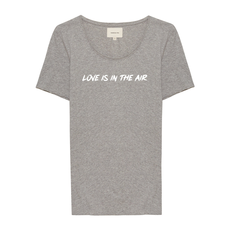 LOVE IS IN THE AIR grey Shirt