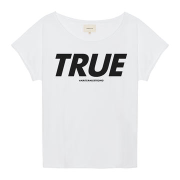 TRUE schwarz T-Shirt