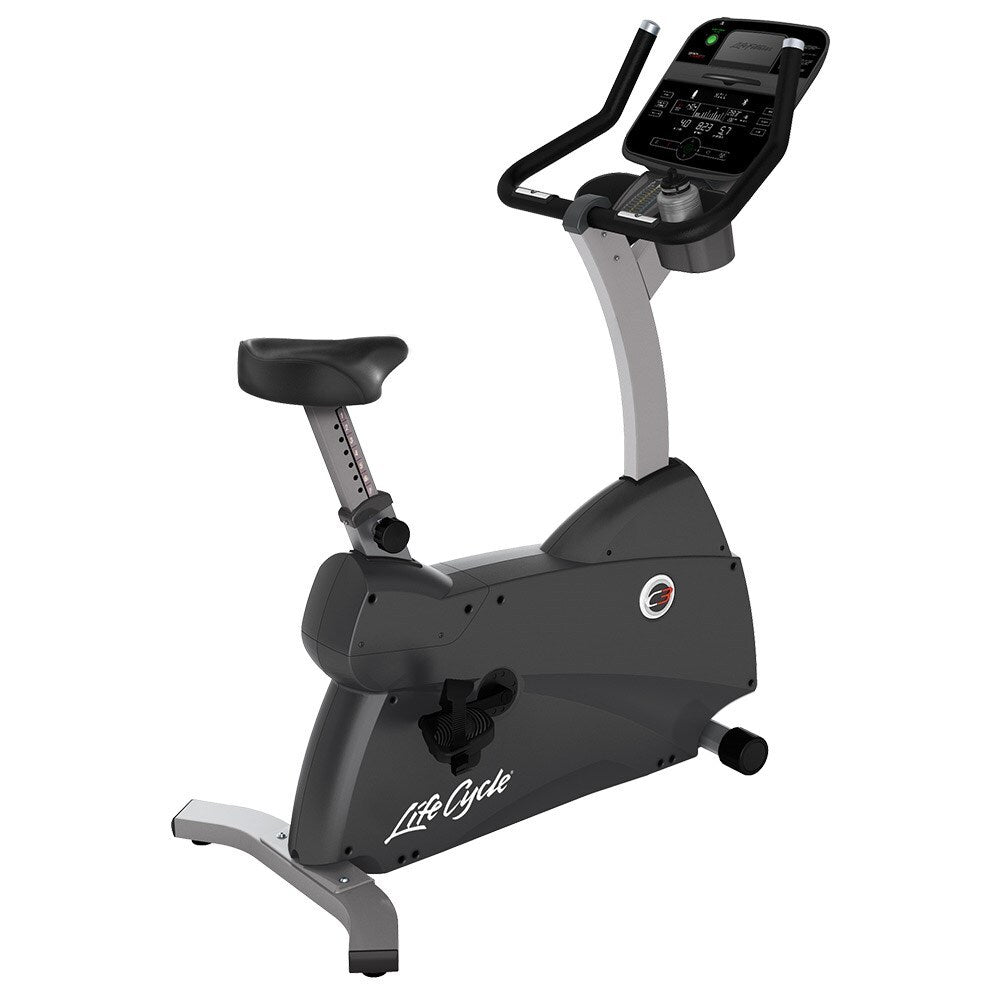 Life Fitness C3 Track Connect Upright Lifecycle Exercise Bike