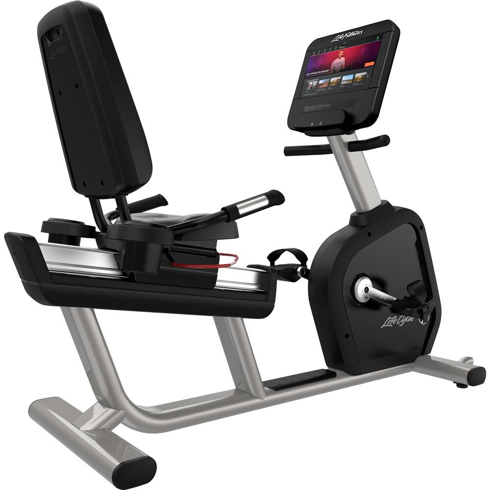 Life Fitness Club Series Plus SE3HD Recumbent Lifecycle Bike