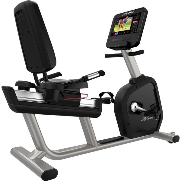 Life Fitness Club Series Plus ST Recumbent Lifecycle Bike