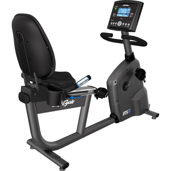 Life Fitness RS3 GO Lifecycle Recumbent Exercise Bike