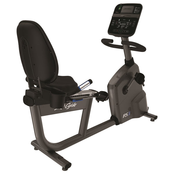Life Fitness RS3 Track Connect Lifecyle Recumbent Exercise Bike
