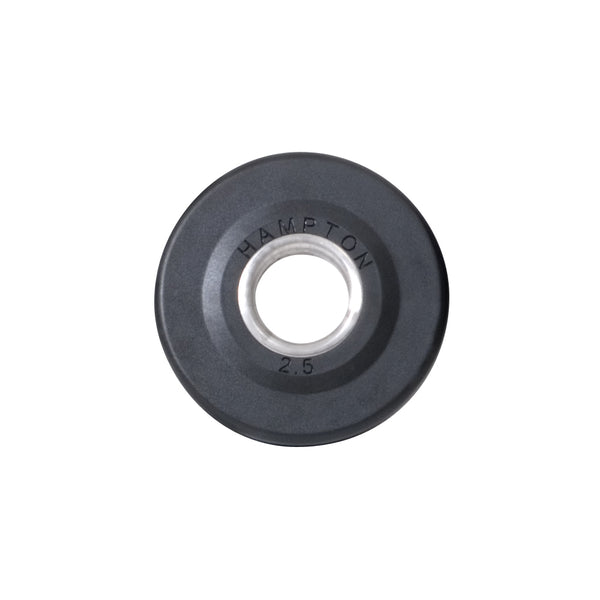 Hampton Olympic Grip Plate — 2.5 lb. Urethane Encased International Plate