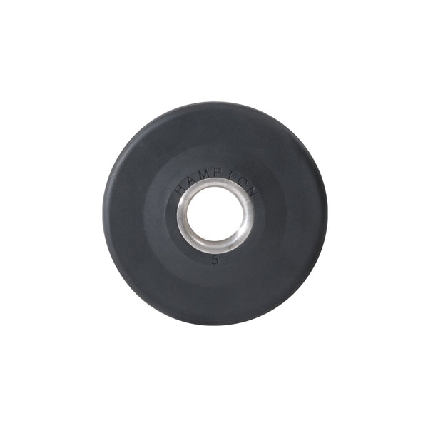 Hampton Olympic Grip Plate — 5 lb. Urethane Encased International Plate