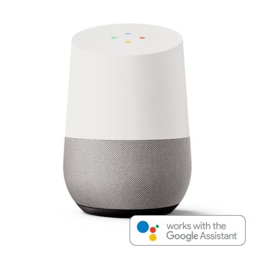 Works with Google Assistant and Google Home Speaker