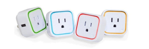 Aeotec Smart Switch 6 Plug Green Blue Red Yellow LED Ring