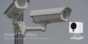 Smart Home Security Camera iSmartAlarm HD Spot