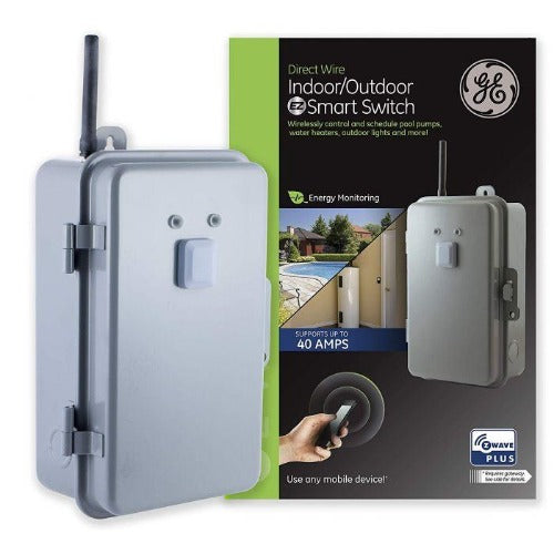 GE 14285 Direct-Wire Outdoor/Indoor Smart Switch