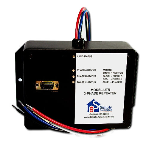 Simply Automated UTR UPB 3-Phase Repeater and Programmer Module