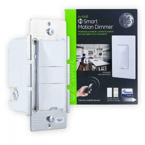 GE Z-Wave Plus In-Wall Smart Motion Dimmer