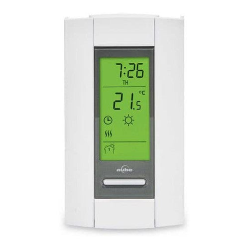 Honeywell Aube TH115-A-120S 120V Single Pole Programmable Thermostat