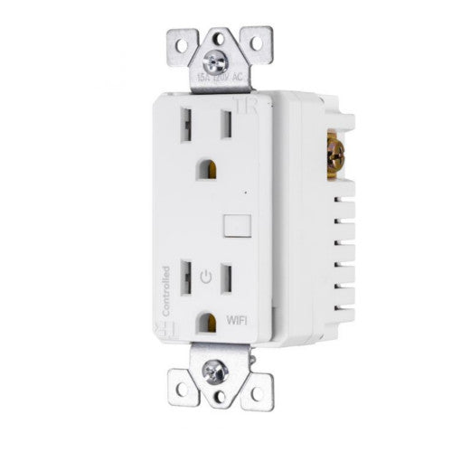 GE 40795 MyTouchSmart Wi-Fi In-Wall Smart Outlet