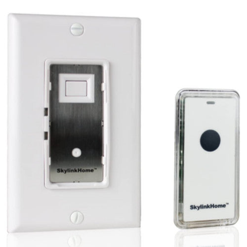 SkylinkHome On/Off In-Wall Switch Receiver with Snap-on Remote