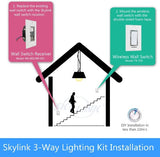 SkylinkHome 3-Way On/Off Smart Switch Kit