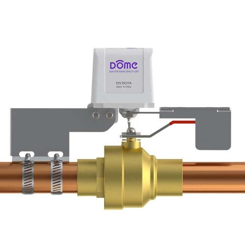 Dome DMWV1 Z-Wave Plus Smart Water Shut-off Valve