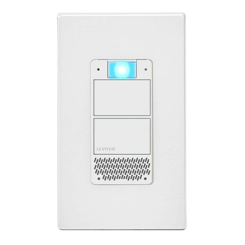 Leviton DWVAA-1BW Wi-Fi Decora Smart Voice Dimmer