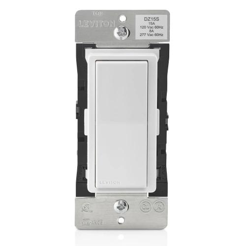 Leviton DZ15S-1BZ Decora Smart Switch with Z-Wave Plus