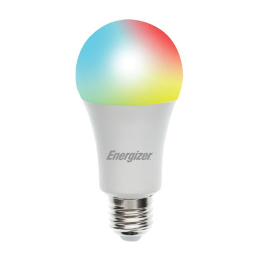 Energizer Connect White and Multi-color Smart LED Bulb